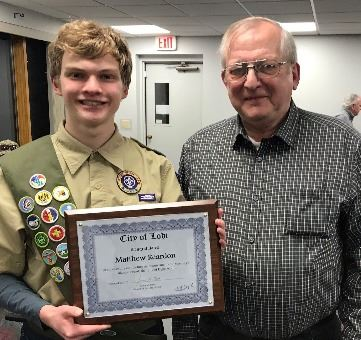 Matthew Reardon Eagle Scout