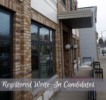 Registered Write-In Candidates