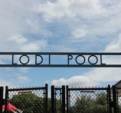Pool Entrance Sign