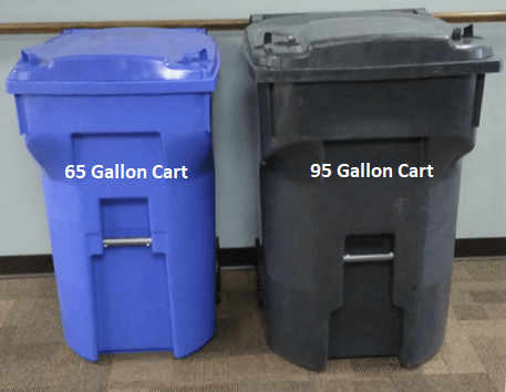 Garbage and Recycling Carts