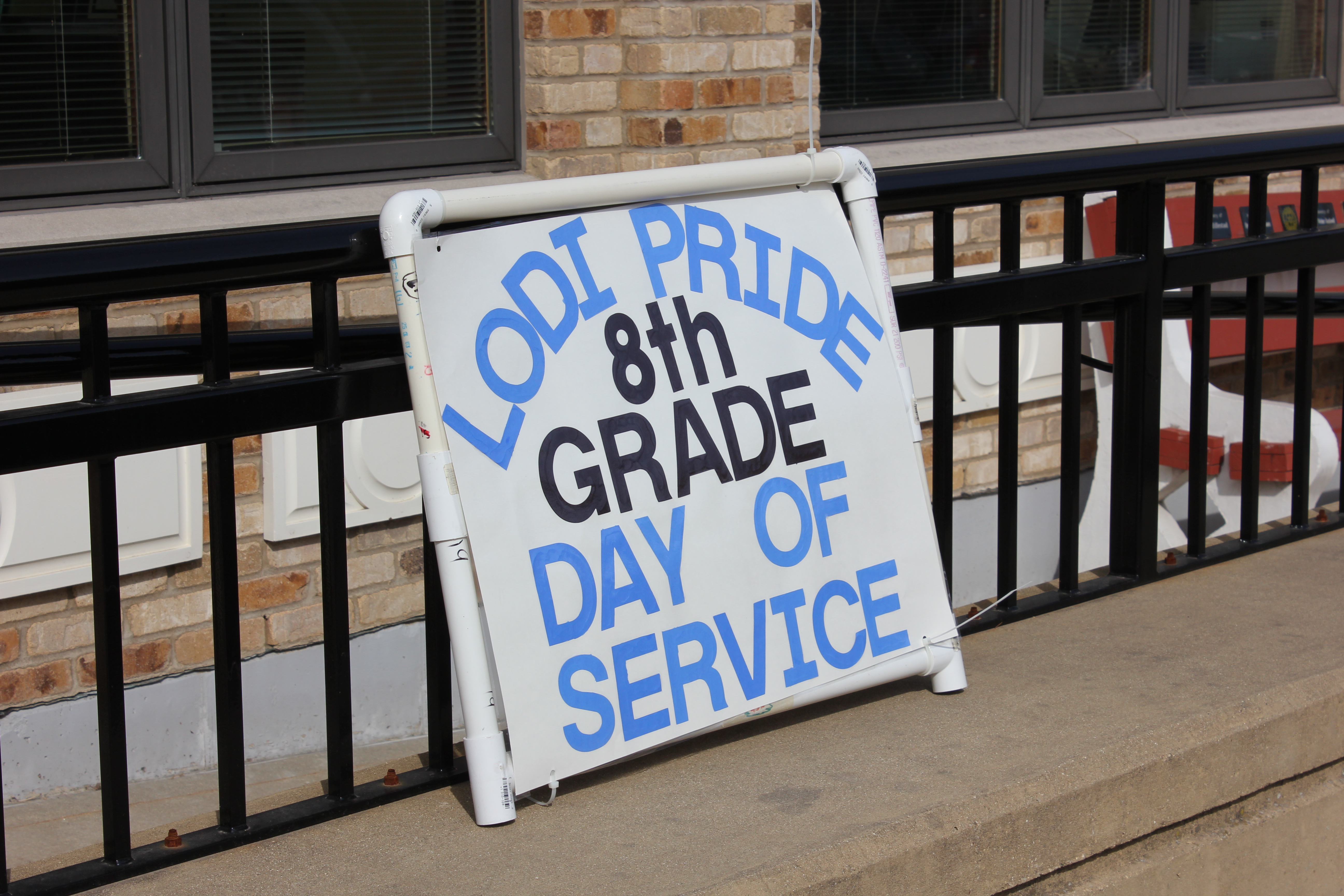Lodi Pride Day of Service at City Hall and Police Station