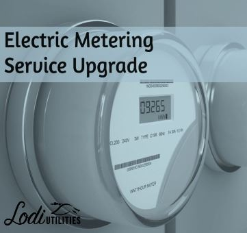 Electric Meter Upgrade